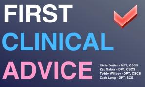 First Clinical Advice