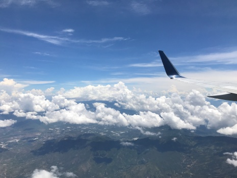 10:00am flight into GUATE