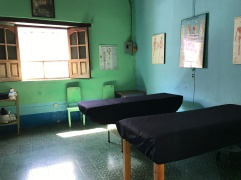 treatment room in Quique's house